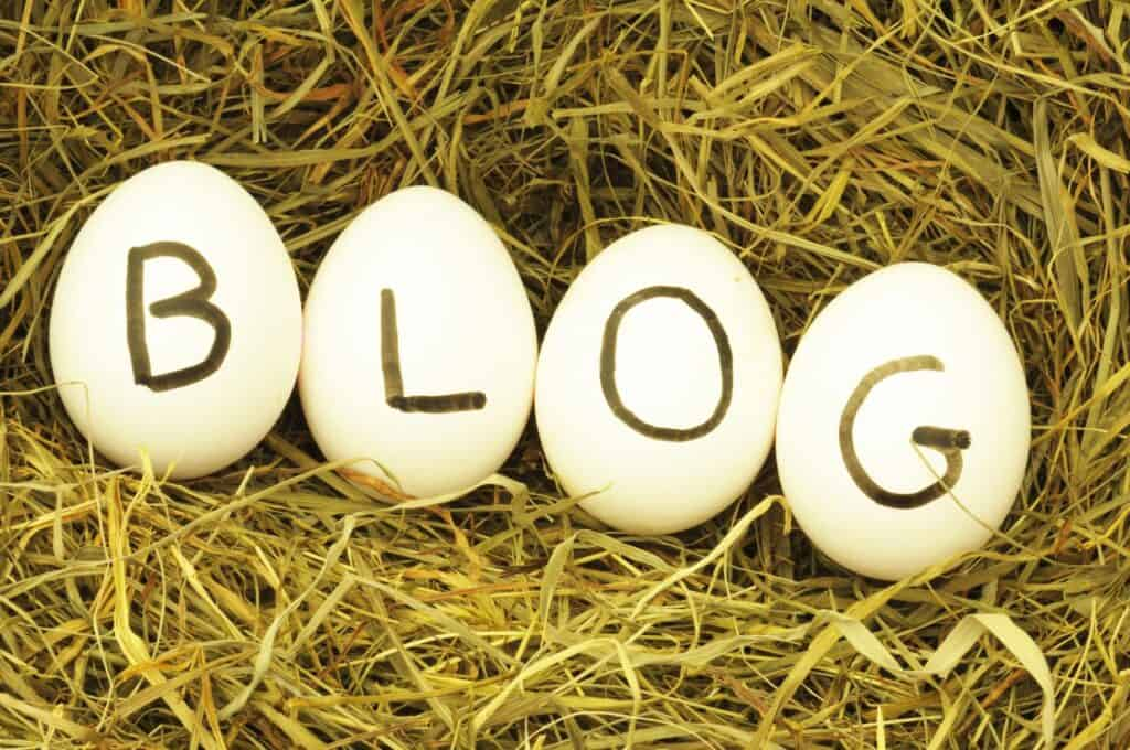 how to start your first blog